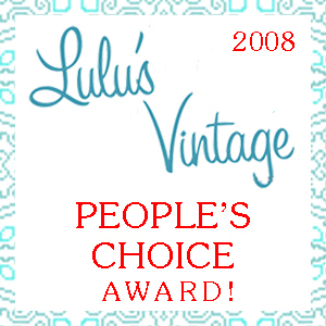 Lulus Vintage Peoples Choice 20081
