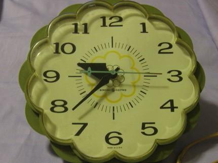 Clock-green