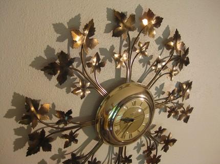 Clock-gold