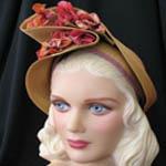 vintage 1940s hat - moonglowroad