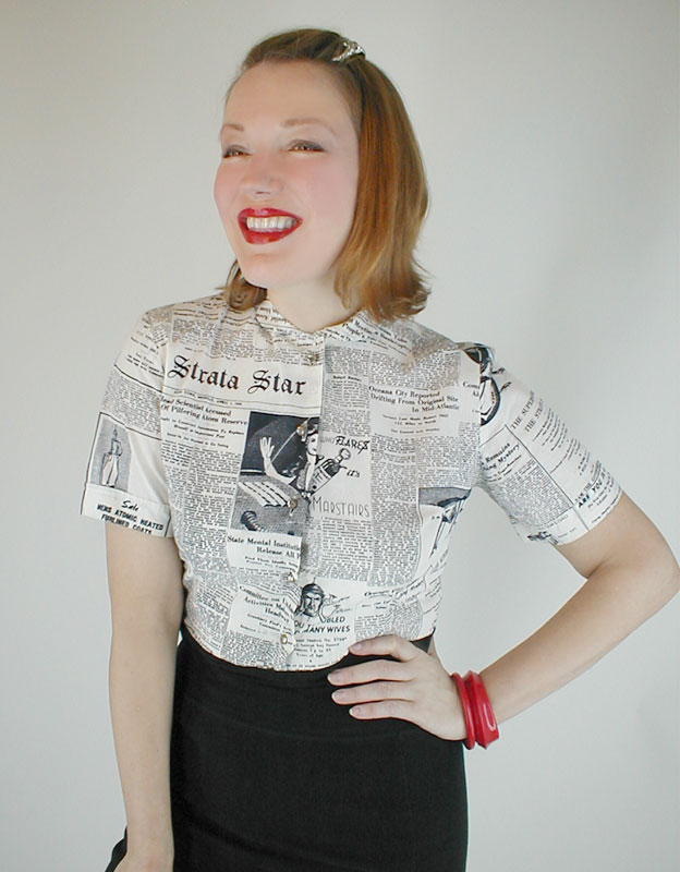 Futuristic blouse at denisebrain