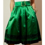 Chanel Green Skirt - lady-goodman