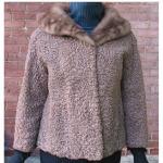 Cocoa Lamb Fur Jacket - rocknbar