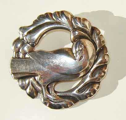 Georg-jensen-brooch