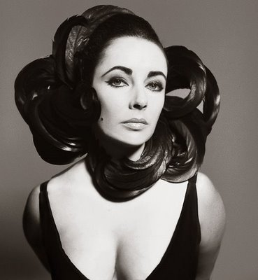 Elizabeth taylor by richard avedon 1964
