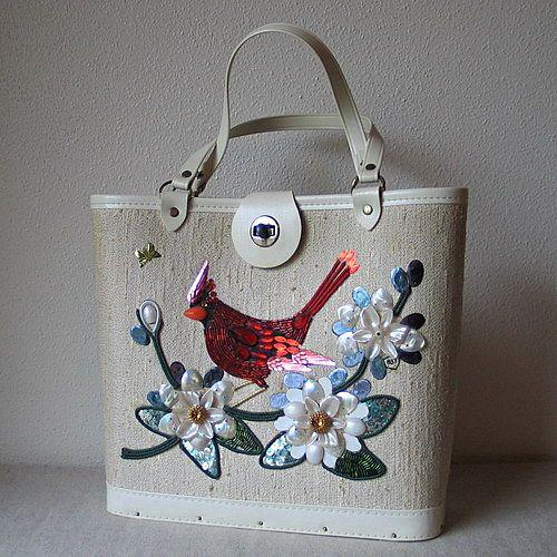 Vintage-bird-purse