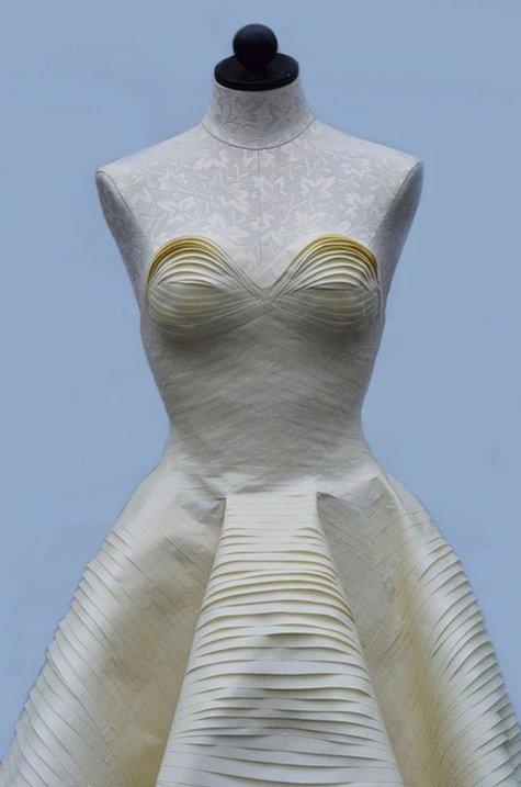 Masking-tape-dress